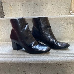 Chinese Laundry Black Ankle Boots